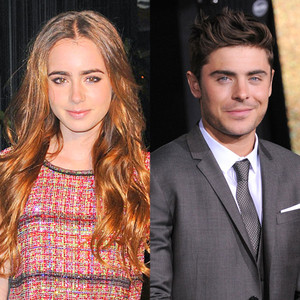 Lily Collins, Zac Efron