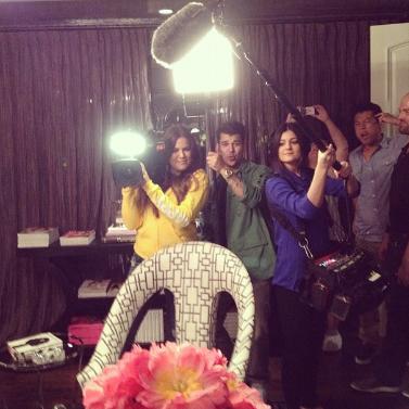 Kris Jenner, Kim Kardashian, Khloé Kardashian, Robert Kardashian, Kendall Jenner, Kylie Jenner