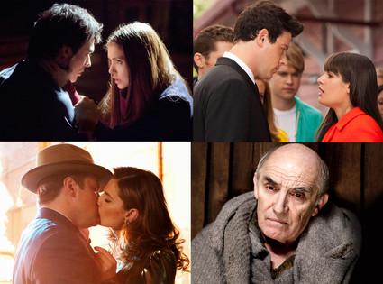 Vampire Diaries, Glee, Castle, Game of Thrones
