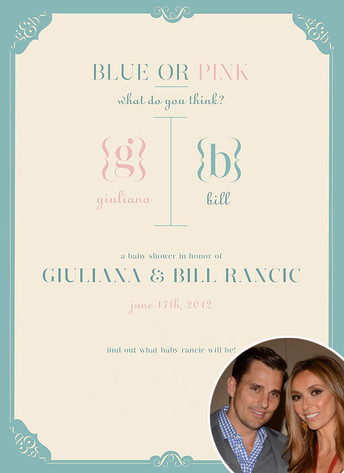 Bill Rancic, Giuliana Rancic, Baby Shower