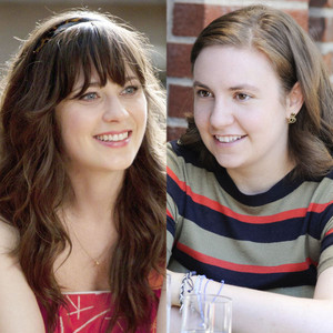 Zooey Deschanel, New Girl, Lena Dunham, Girls