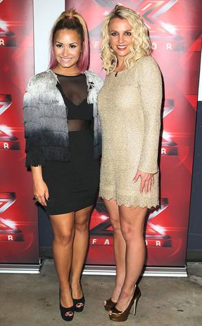 Demi Lovato, Britney Spears