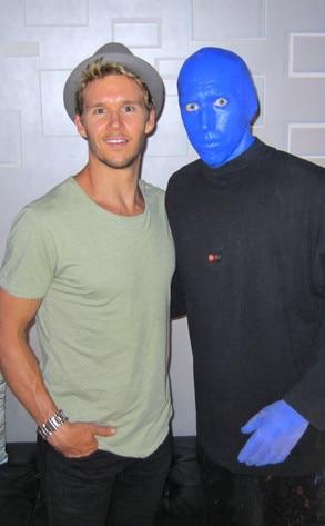 Ryan Kwanten, Blue Man