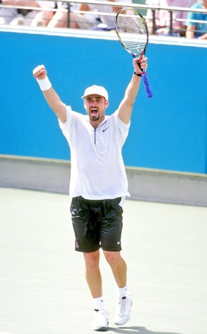 Awesome Olympians,  Andre Agassi