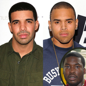 Chris Brown, Drake, Meek Mill