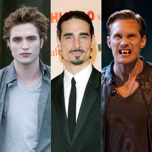 Robert Pattinson, Kevin Richardson, Alexander Skarsgard