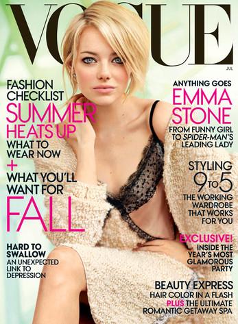 Emma Stone, Vogue