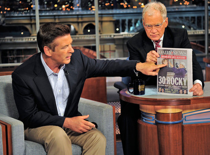 Alec Baldwin, David Letterman
