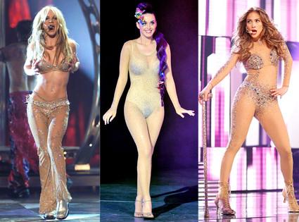 Britney Spears, Katy Perry, Jennifer Lopez