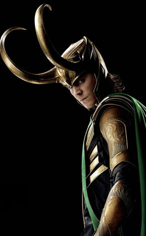 Tom Hiddleston, Loki in The Avengers