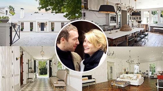 Gwyneth Paltrow, Chris Martin, Home
