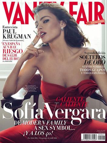 Sofia Vergara, Vanity Fair Spain