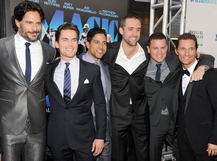 Joe Manganiello, Matt Bomer, Adam Rodriguez, Reid Carolin, Channing Tatum, Matthew McConaughey