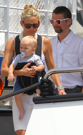 Kate Hudson, Matt Bellamy, Bing Bellamy