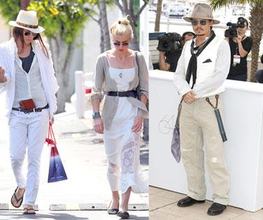 Amber Heard, Tasya Van Ree, Johnny Depp