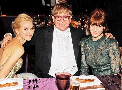 Elton John, Florence Welch, Naomi Watts