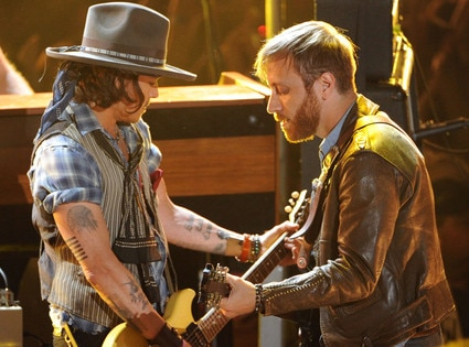 MTV Movie Awards Show, Johnny Depp, Dan Auerbach