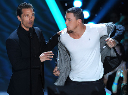 MTV Movie Awards, Matthew McConaughey, Channing Tatum