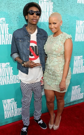 MTV Movie Awards, Wiz Khalifa, Amber Rose