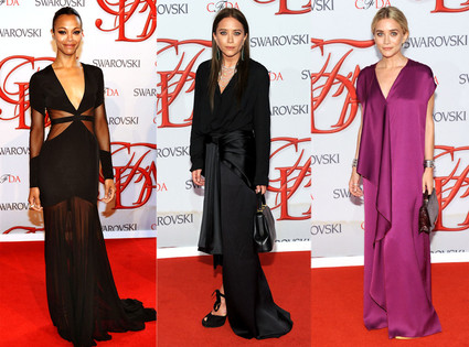 Zoe Saldana, Mary Kate Olsen, Ashley Olsen