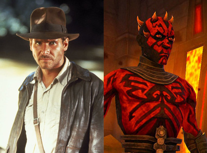 Indiana Jones, Darth Maul