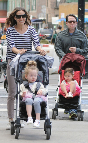 Sarah Jessica Parker, Matthew Broderick, twins