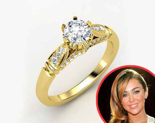 Gemvara ring, Miley Cyrus