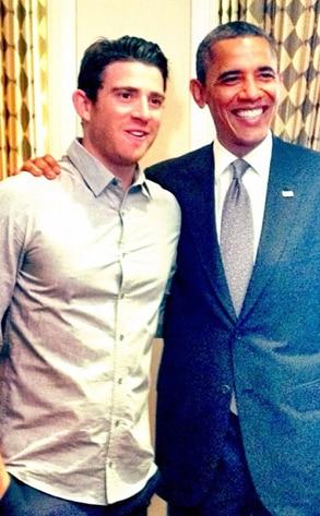 Bryan Greenberg, Barack Obama