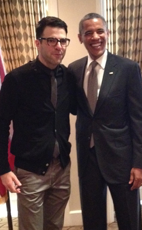 Zachary Quinto, Barack Obama