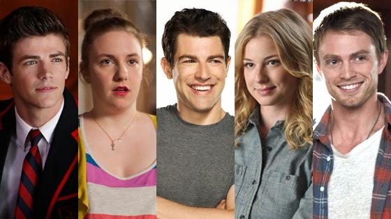 Golden Remotes, Grant Gustin, Lena Dunham, Max Greenfield, Emily VanCamp, Wilson Bethel