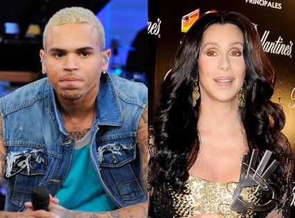 Chris Brown, Cher