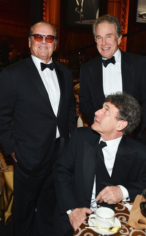Jack Nicholson, Alan Horn, Warren Beatty