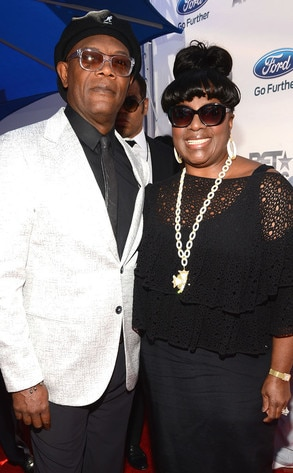 BET Awards, Samuel L. Jackson, Latanya Richardson
