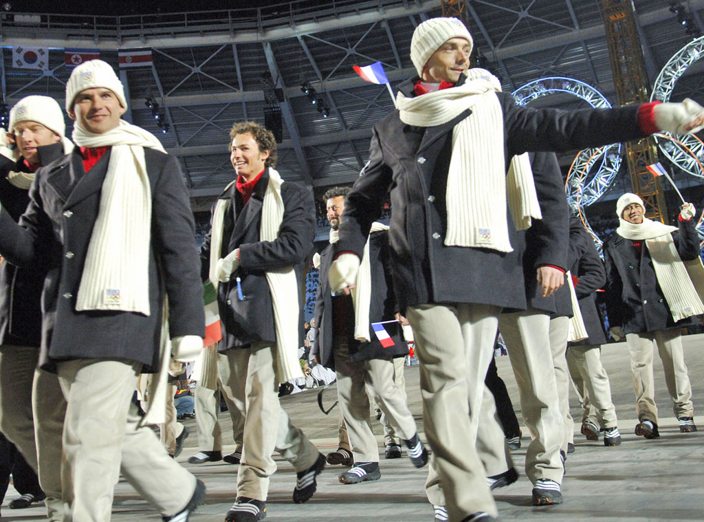 France at Turin 2006 Opening Ceremony