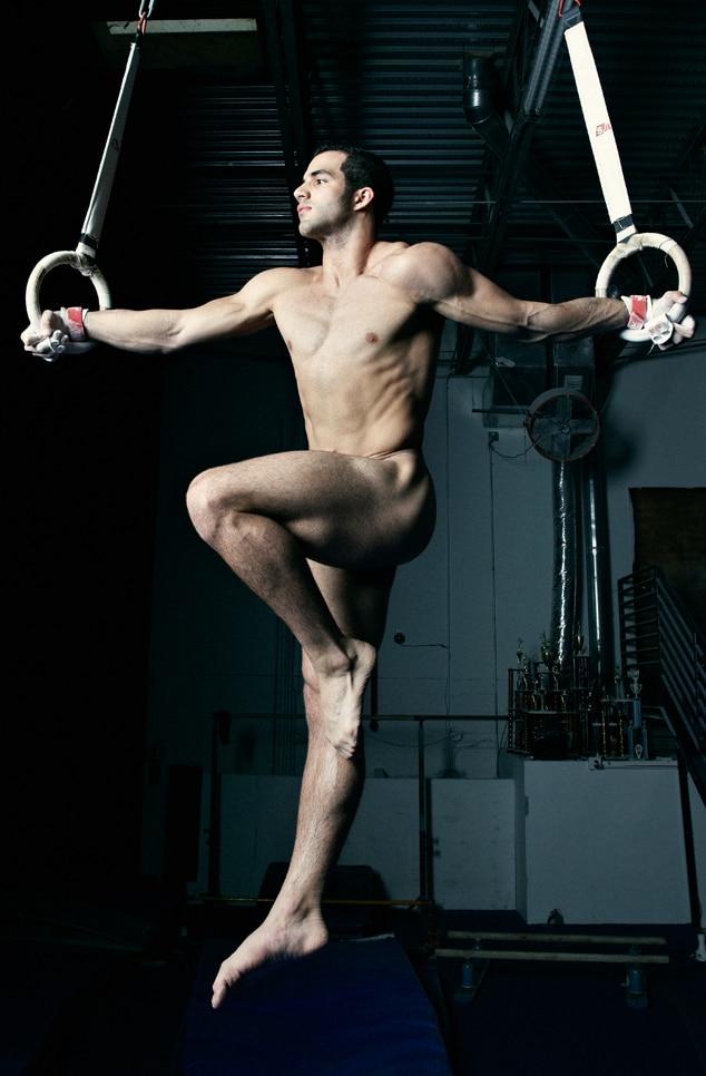 Danell Leyva, Naked Athletes, ESPN