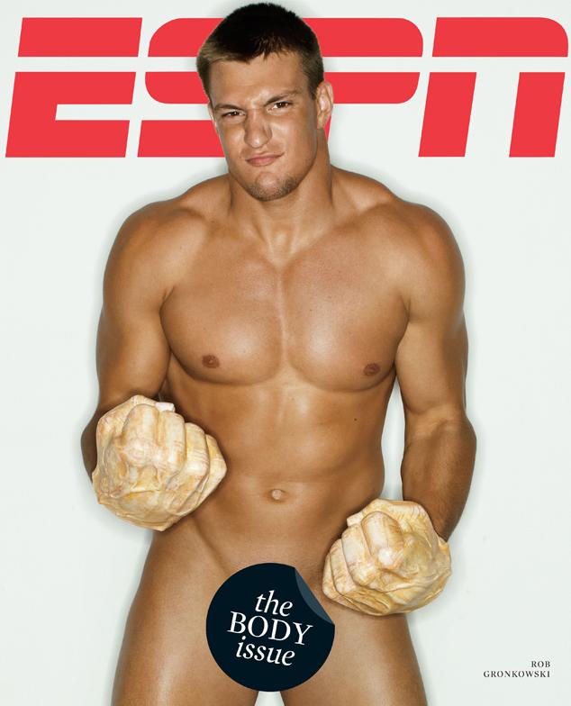 Rob Gronkowski, Naked Athletes, ESPN