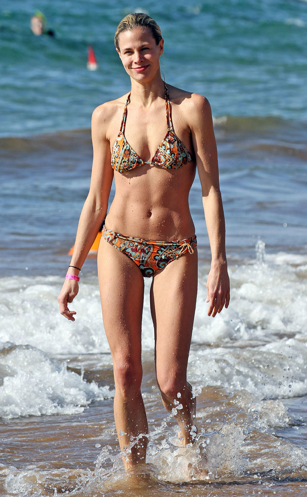 Maria bello bikini something is