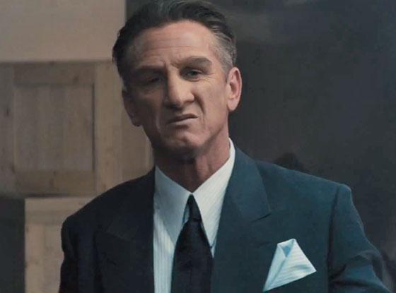 Gangster Squad, Sean Penn