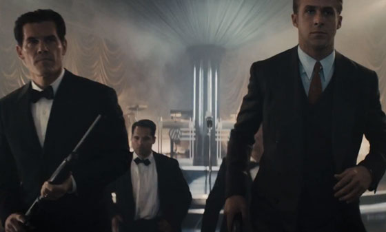 Gangster Squad, Josh Brolin, Ryan Gosling