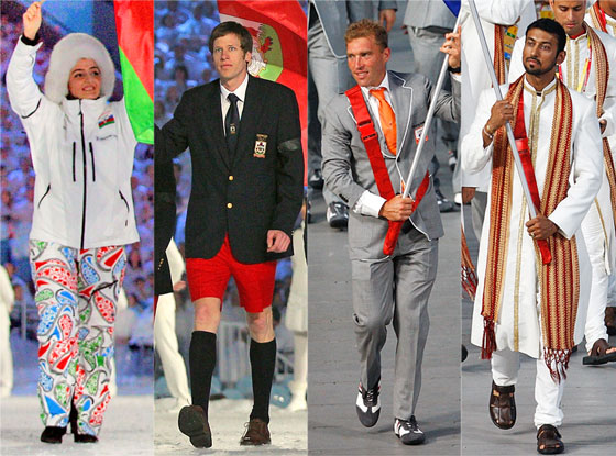 Olympics Opening Ceremony Fashion Rewind