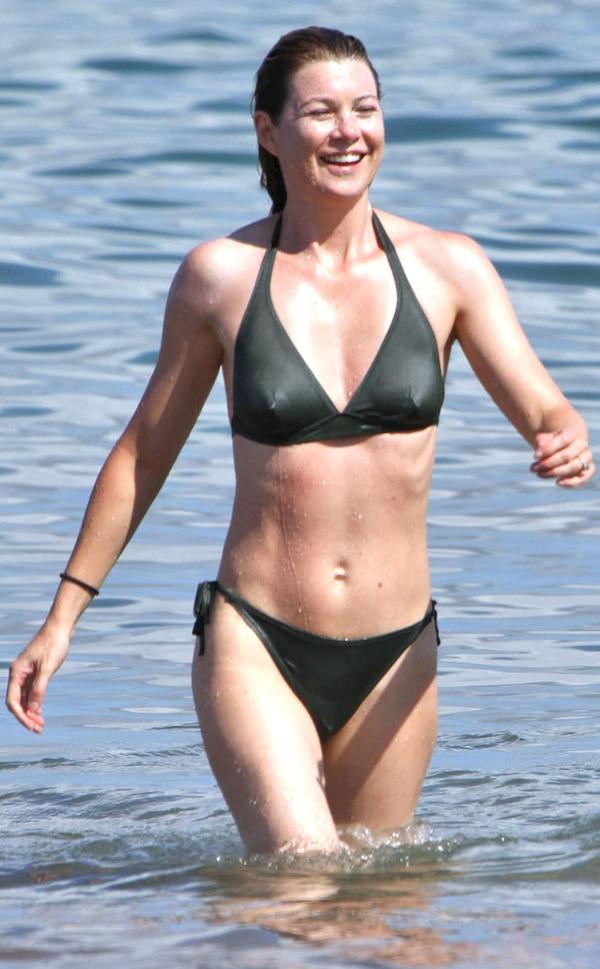 Ellen Pompeo From Bikini Gallery E News