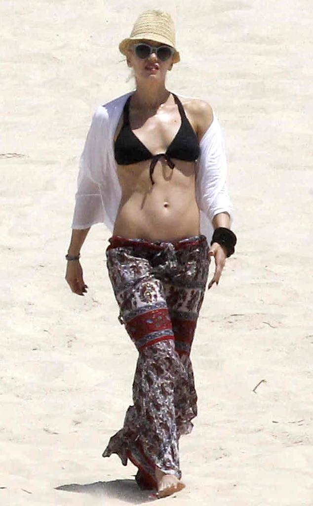 Gwen Stefani From Bikini Gallery E News
