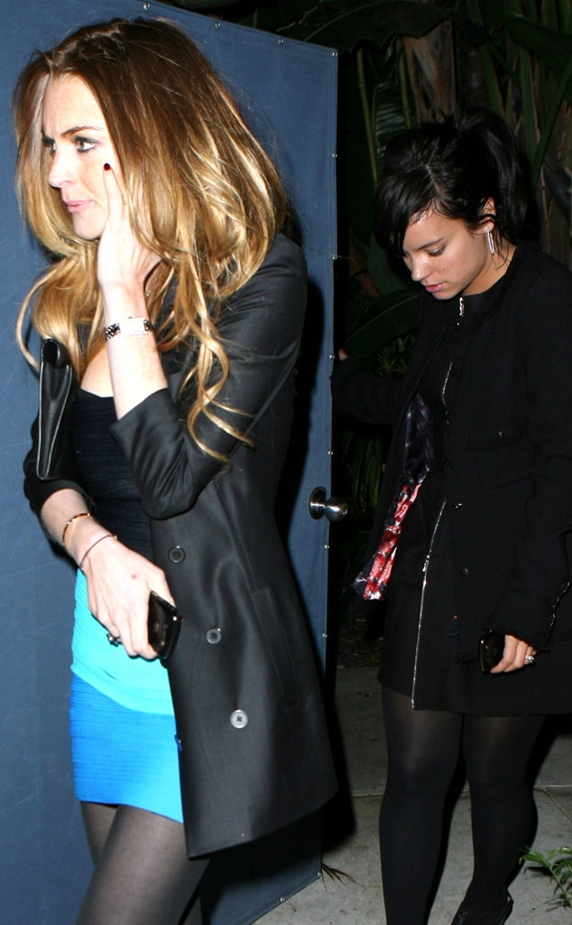 Lindsay Lohan, Lily Allen