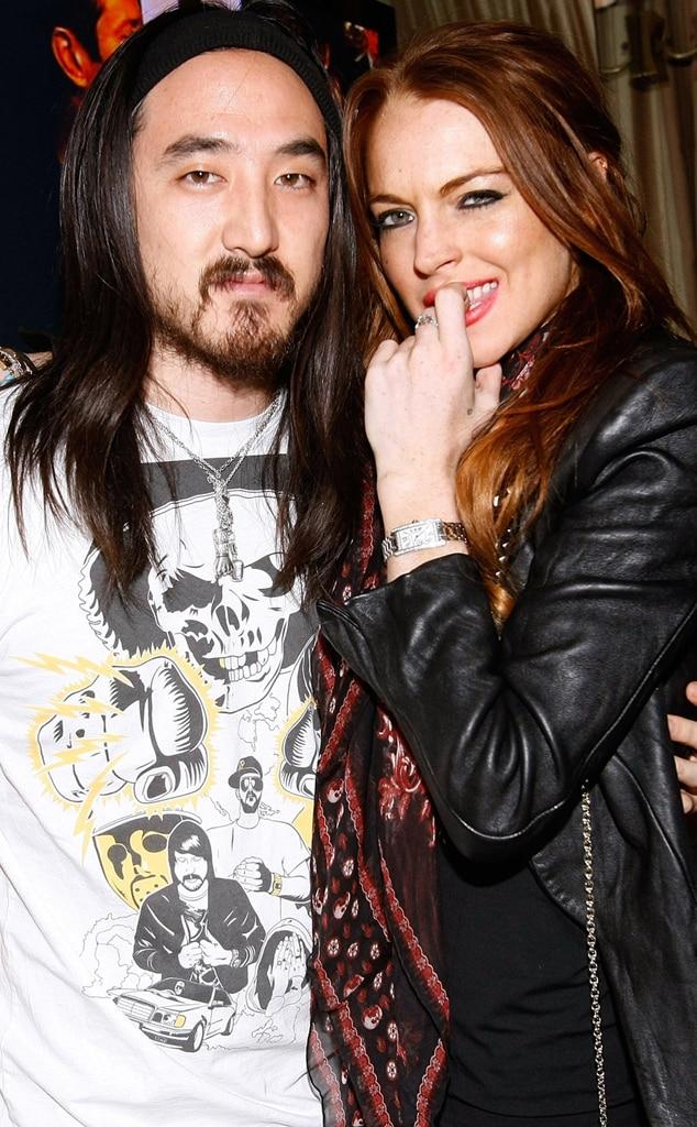 DJ Steve Aoki, Lindsay Lohan