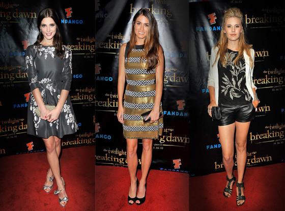 Ashley Greene, Nikki Reed, Maggie Grace