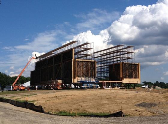 Noah's Ark, Darren Aronofsky, Twit Pic