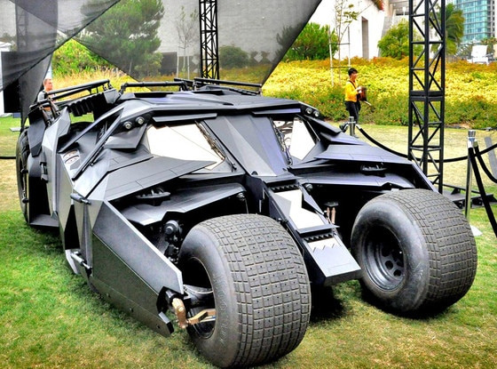 Christian Bale, Batmobile, Tumbler