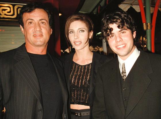 Sylvester Stallone, Jennifer Flavin, Sage Stallone