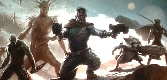 Guardians of the Galaxy, Screen grab