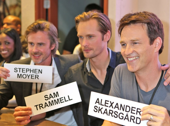 Comic Con, Sam Trammell, Alexander Skarsgard, Stephen Moyer